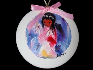 DeGrazia Christmas Ornament
